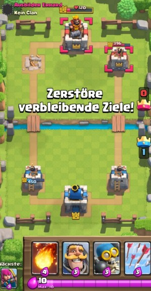 Screenshot 1 - Clash Royale für PC