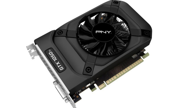 PNY GeForce GTX 1050 Ti © PNY