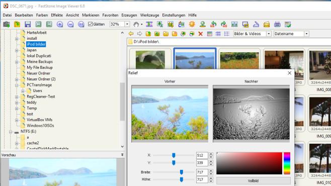 FastStone Image Viewer: Bilddateien verwalten ©COMPUTER BILD