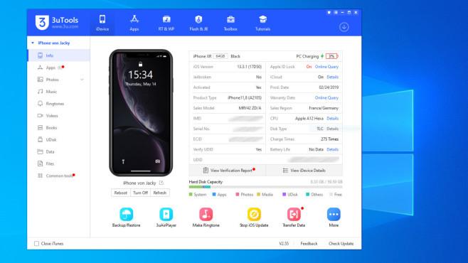 iDevice Manager: Aufs Dateisystem von iOS-Geräten zugreifen ©COMPUTER BILD