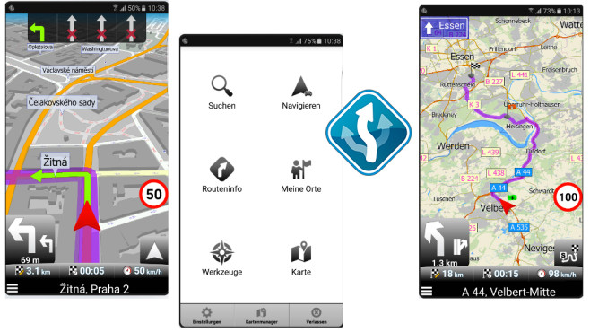 MapFactor – GPS Navigation ©MapFactor