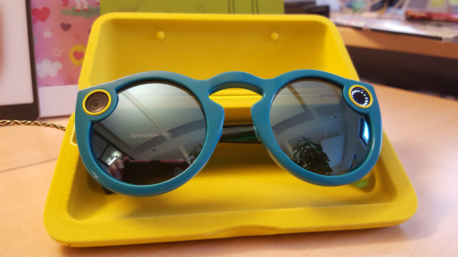 Sonnenbrille Snap Spectacles © COMPUTER BILD; Snapchat