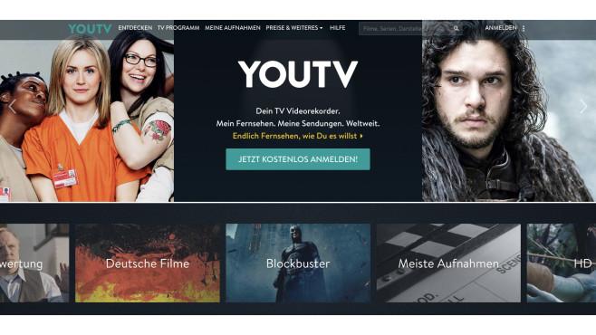 YouTV.de©Screenshot YouTV.de