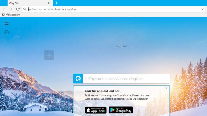 Cliqz Browser ©COMPUTER BILD