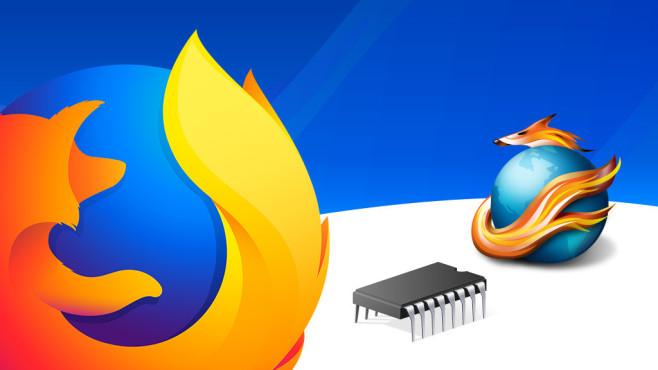 Firefox©Mozilla, Firamin, Microsoft