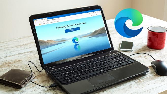 Microsoft Edge – Chromium-Version (neu) ©Cobi Archiv
