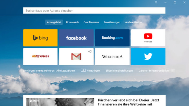 Yandex Browser ©COMPUTER BILD