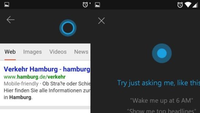 Cortana für Android (APK): Microsoft-Assistent für Androiden ©COMPUTER BILD
