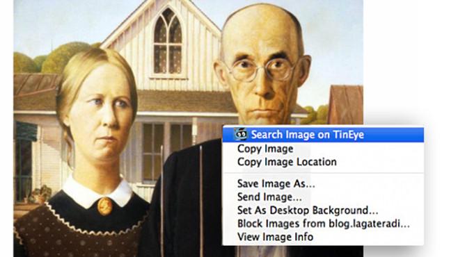 TinEye: Spezialsuche für doppelte Bilder ©Tineye