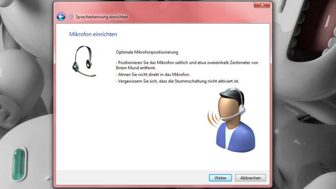 Windows-Spracherkennung einrichten ©COMPUTER BILD