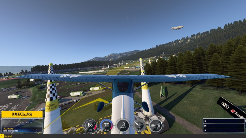 Screenshot 1 - Red Bull Air Race: The Game
