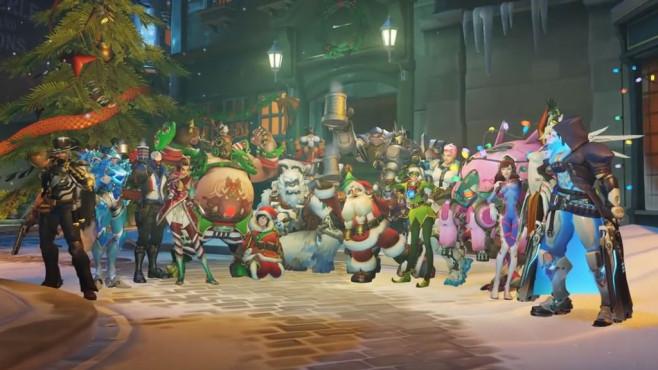 Overwatch: Weihnachts-Event©Blizzard
