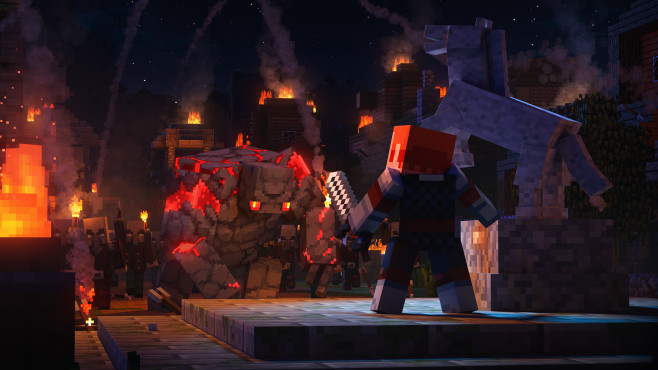 Minecraft: Dungeons©Microsoft Xbox
