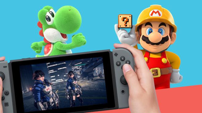 Switch-Spiele: Diese neuen Games kommen 2019! Auch in diesem Jahr bekommt die Nintendo Switch einige Megahits spendiert.©Nintendo, Grasshopper Manufactures