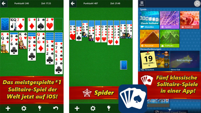 Microsoft Solitaire Collection ©Microsoft Corp.