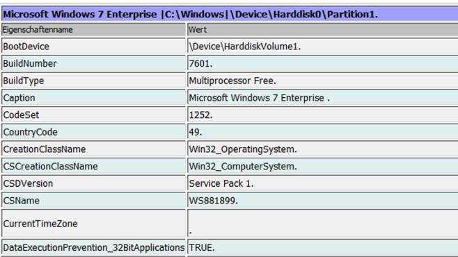 Windows 7/8/10: Computer-Infos als Tabelle anzeigen Mehrere Versionsnummerangaben oder Grundlegendes zum Arbeitsspeicher gibt das System als Tabelle aus. Wen das reizt, der erzeugt außerdem eine .©COMPUTER BILD