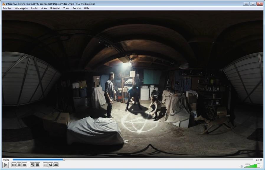 Screenshot 1 - VLC 360
