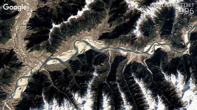 Google Earth Timelapse©Google