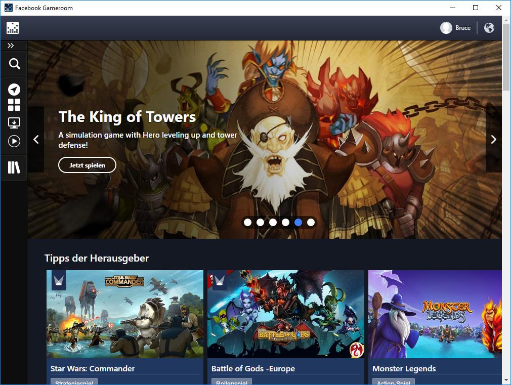 Screenshot 1 - Facebook Gameroom