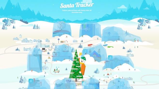 Google Santa Tracker©Google