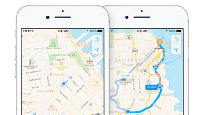 Apple: Maps©Apple
