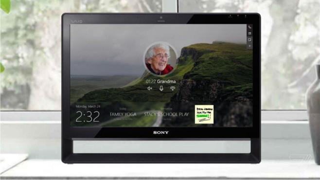 Home Hub Windows Smart Home Zentrale Computer Bild