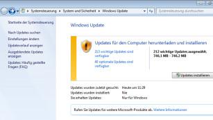 Windows 7: Update-Suche langsam, findet nichts©COMPUTER BILD