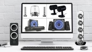 PC-Lautsprecher im Test©istock/ExperienceInteriors, HARMAN KARDON, RAZER, TRUST, LOGITECH