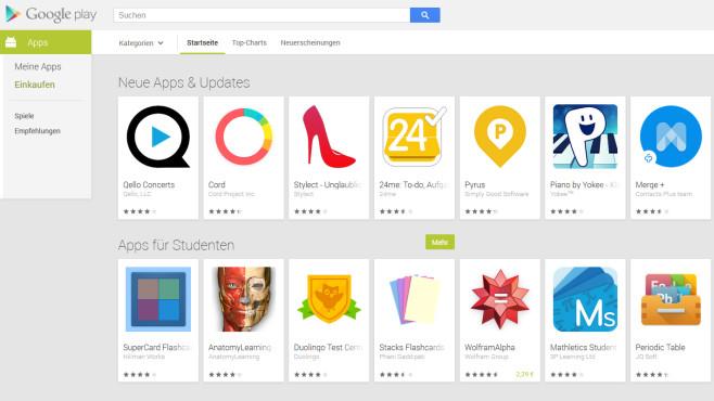 Google Play Store (APK) ©COMPUTER BILD