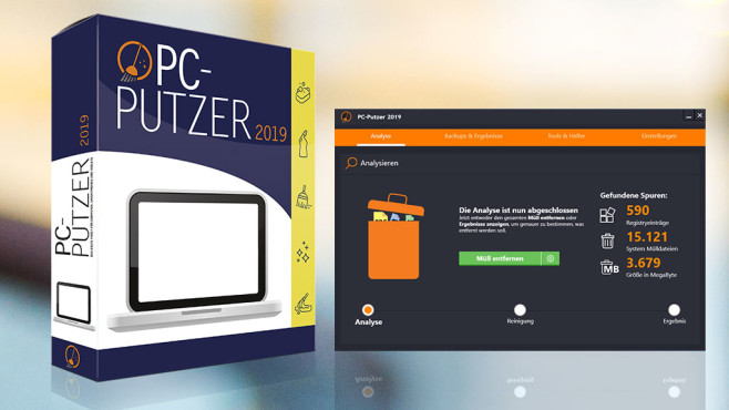 PC-Putzer (COMPUTER BILD-Edition) ©COMPUTER BILD