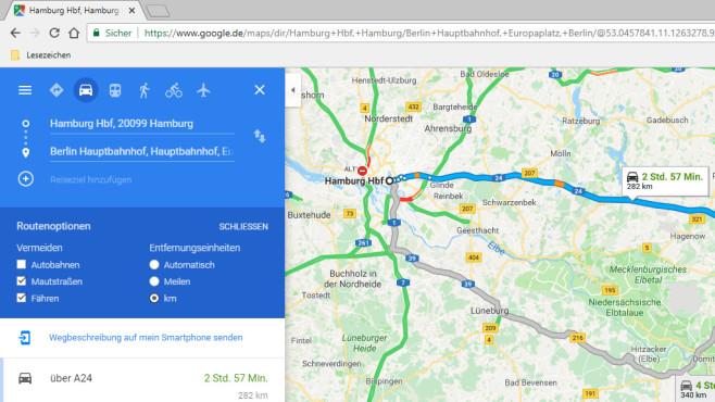 Platz 58: Google Maps (neu) ©COMPUTER BILD