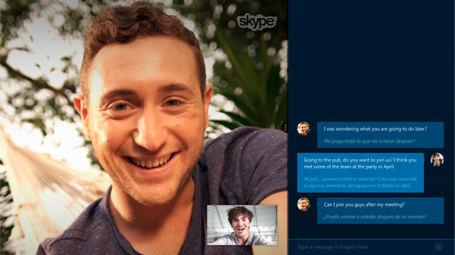 Skype übersetzt Festnetz-Anrufe©Skype