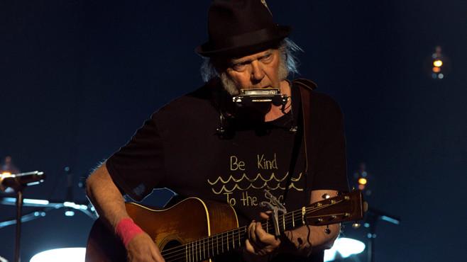 Neil Young startet eigenen Streaming-Dienst©Julie Gardner / WB Records