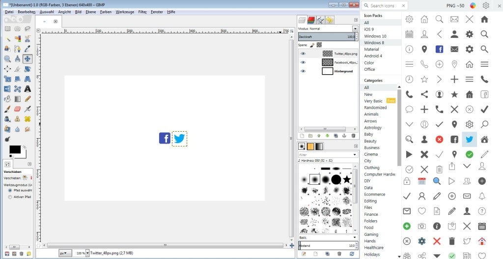 Screenshot 1 - Icons8