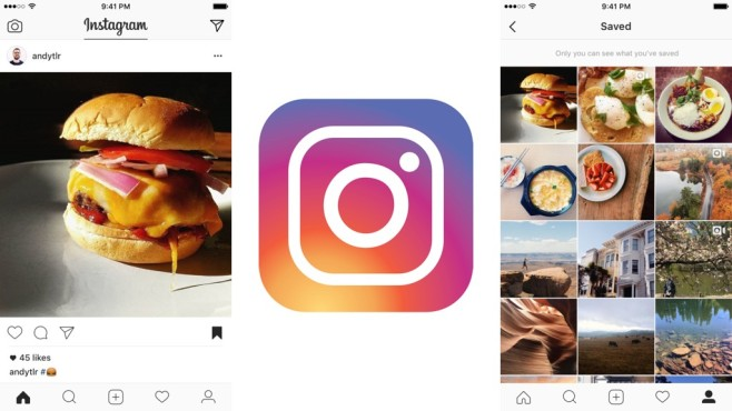 Instagram-Bookmarks © Instagram