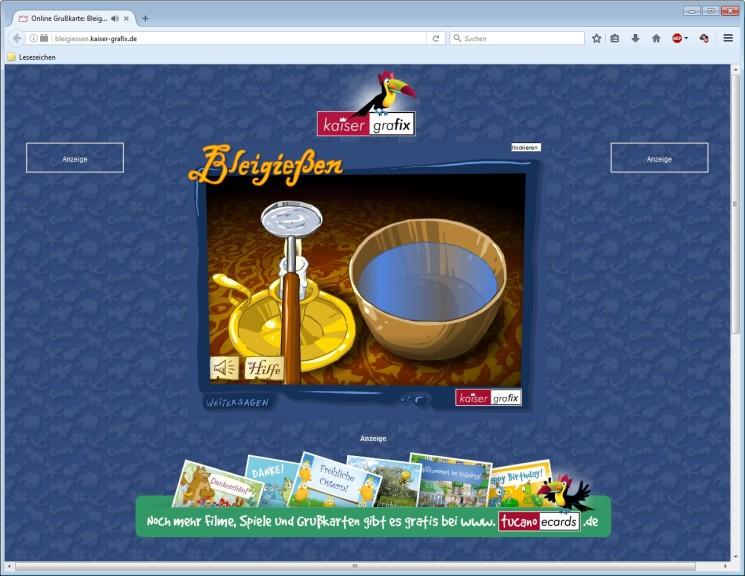 Screenshot 1 - Bleigießen