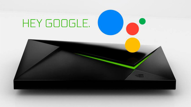 Nvidia Shield Google Assistant © Nvidia, Google