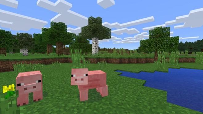 Minecraft: Schweine©Microsoft