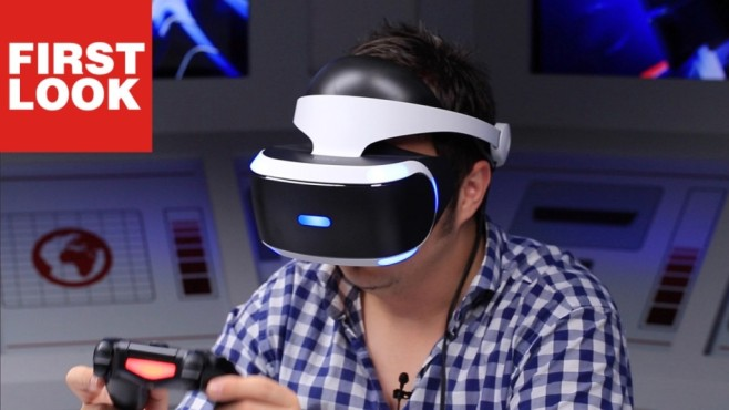 PlayStation VR im First Look: Sonys VR-Brille ausprobiert © COMPUTER BILD