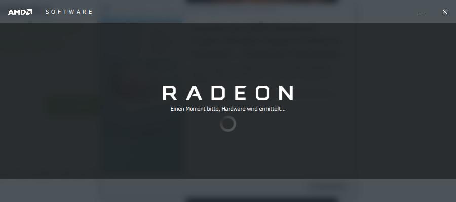 Screenshot 1 - AMD-Notebook-Treiber (Mobile): Radeon-Software Adrenalin Edition (Windows 10, 32 Bit)