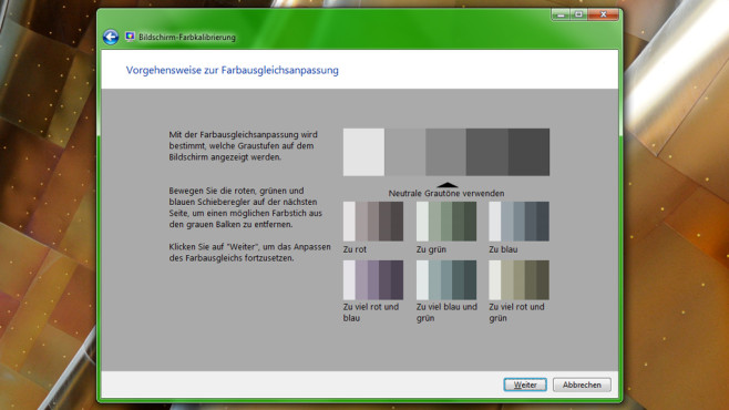 Bildschirm-Farbkalibrierung ©COMPUTER BILD