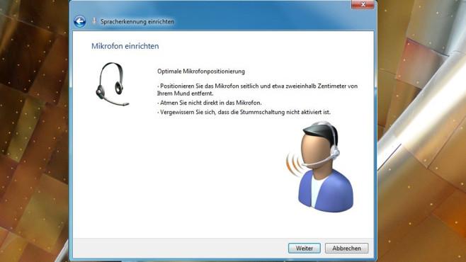 Spracherkennung einrichten ©COMPUTER BILD