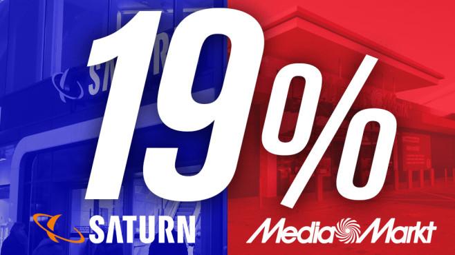 Saturn Mehrwertsteuer-Aktion©Saturn, Media Markt