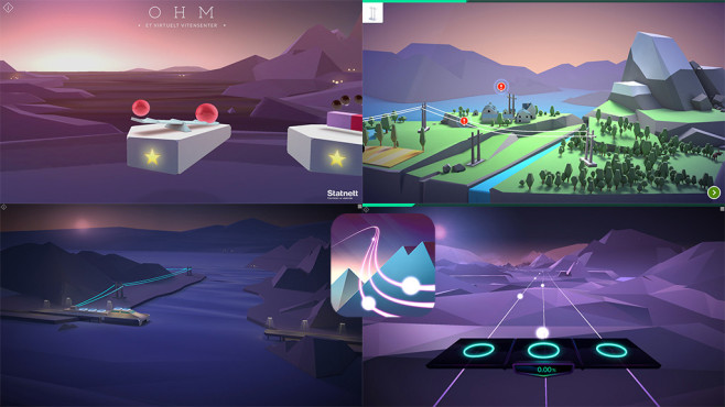 OHM – A virtual science centre ©Statnett