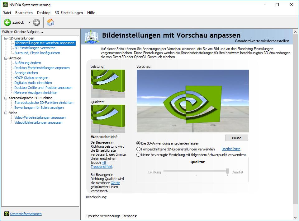Screenshot 1 - Nvidia-GeForce-Notebook-Treiber (Windows 10, 32 Bit)