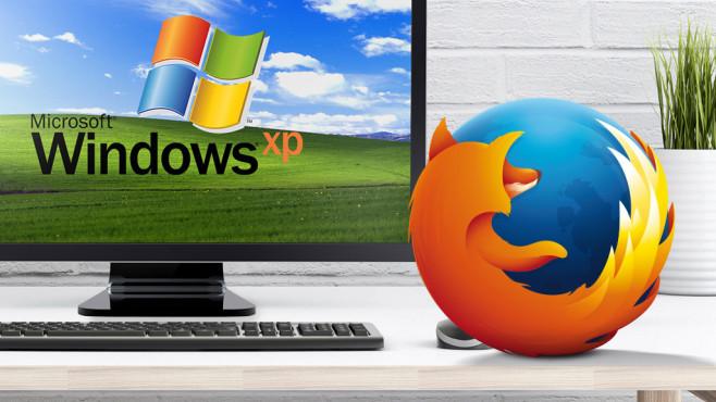 Firefox©Mozilla, Microsoft