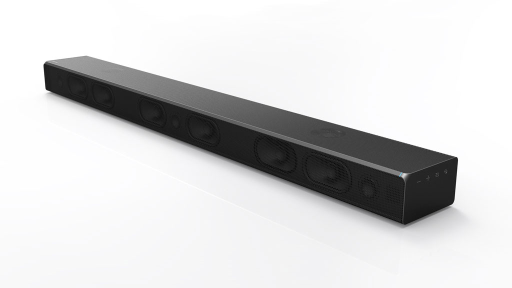 samsung ms750 soundbar im test audio video foto bild. Black Bedroom Furniture Sets. Home Design Ideas