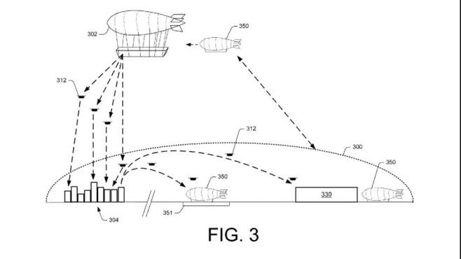 Patentzeichnung©Amazon/USPTO