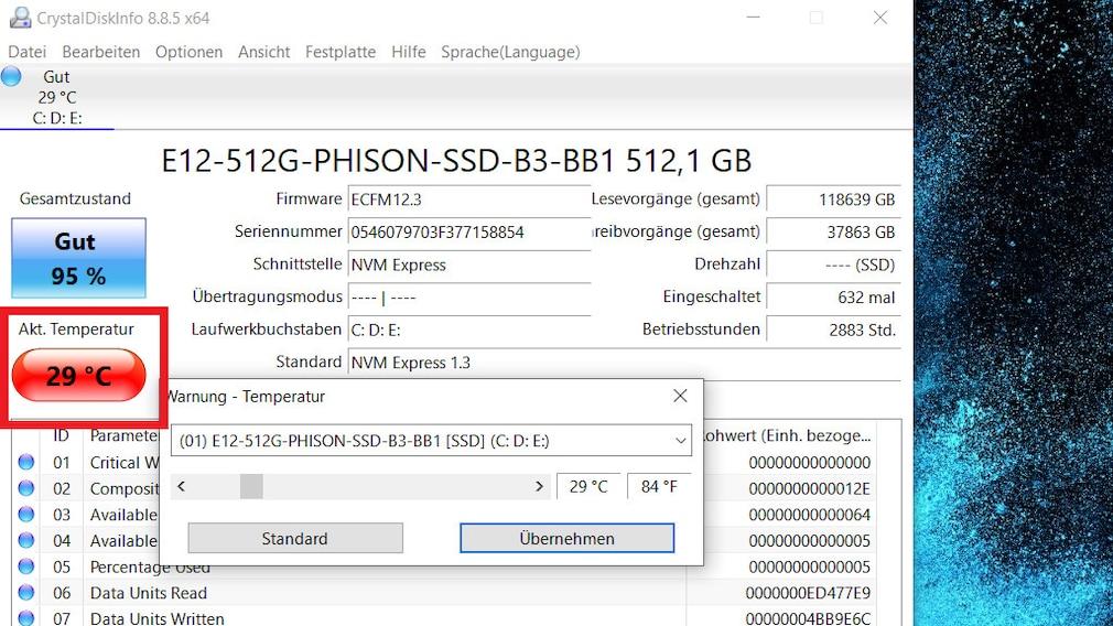 SSD-Defekt erkennen: So analysieren Sie mit CrystalDiskInfo Ihr Laufwerk