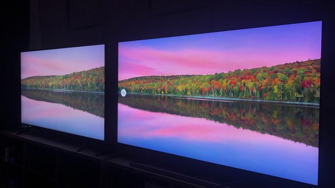 Samsung QLED-Fernseher: Farben weniger ausgeblichen©COMPUTER BILD